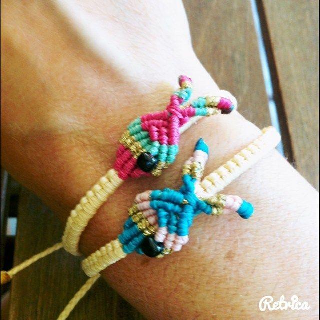 #my_armcandy #macrame #macramebracelet #fish #diybracelet #bracelets #summer #colorful