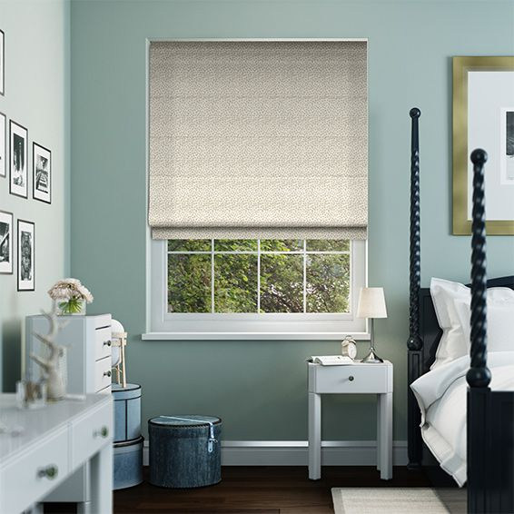 Rockhampton Neutral Roman Blind from Blinds 2go