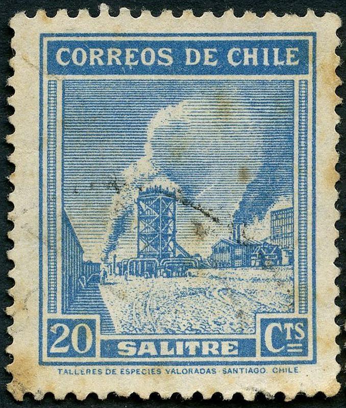 Salitre en Chile