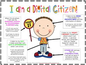 The Book Fairy-Goddess: Digital Citizenship. She has a TPT unit on Digital Citizenship for elementary and shares how she did the lessons and activities. Great for starting back to school!