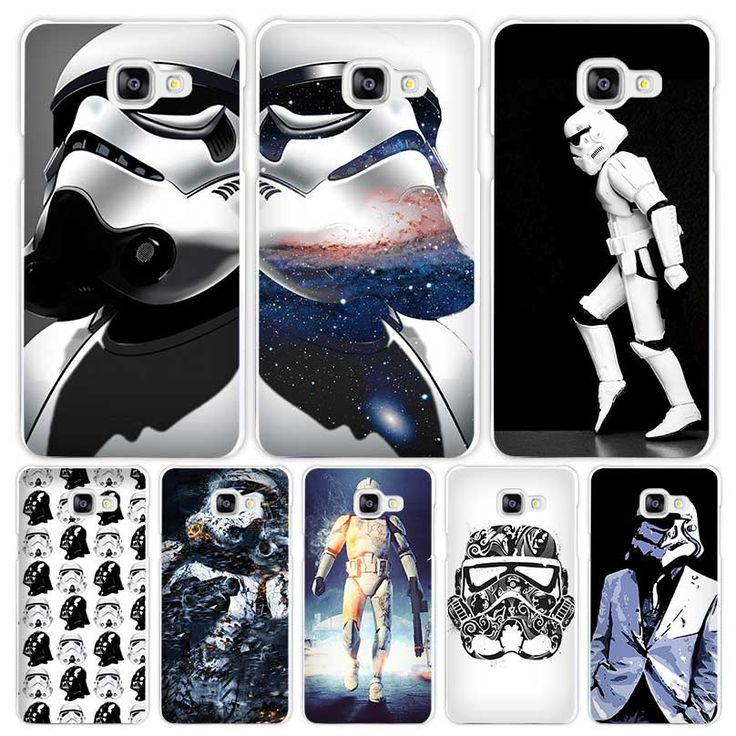 storm trooper star wars Hard White Coque Shell Case Cover Phone Cases for Samsung Galaxy A3 A5 A7 2016 2017 A8 A9