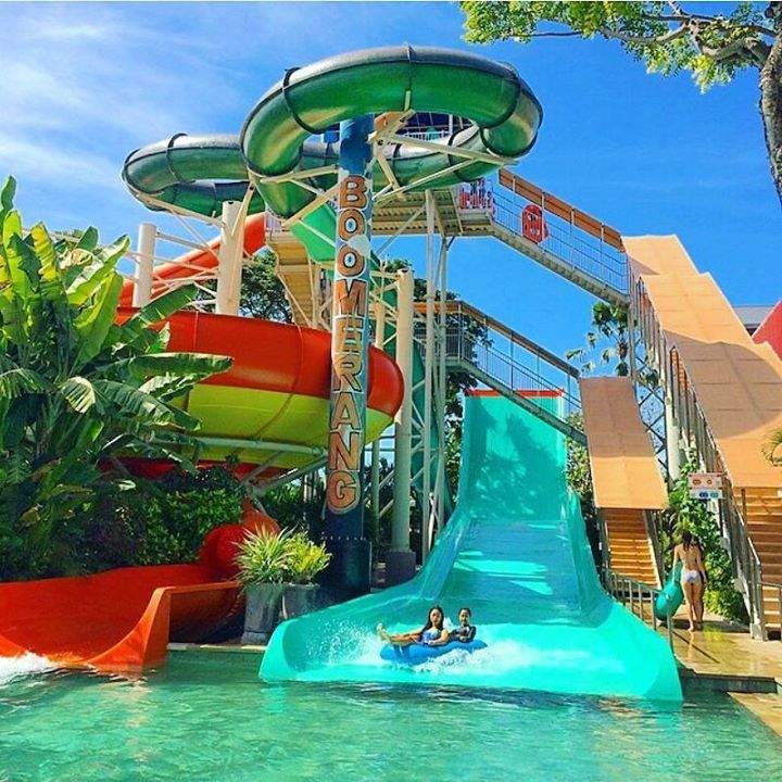 W a t e r b o m Photo by @nancyaryasubawa Photo location : Jalan Kartika Tuban Kuta Bali Looking for a day of fun in the sun perfect for the whole family in waterpark? Waterbom Bali is the one-stop leisure capital of Bali No 1 Water Park in Asia the perfect place for you. With a choice of dining outlets swim-up bar for occasional drinks and lots of water slides in the heart of Kuta. To ensure entertaining experience for the whole family Waterbom have numerous water slides for adults and…