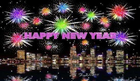Happy New Year fireworks animated gif happy new year 2015 happy new year quote happy new year greeting