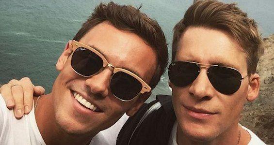 Том Дэйли и Дастин Лэнс Блэк объявили о своей помолвке
