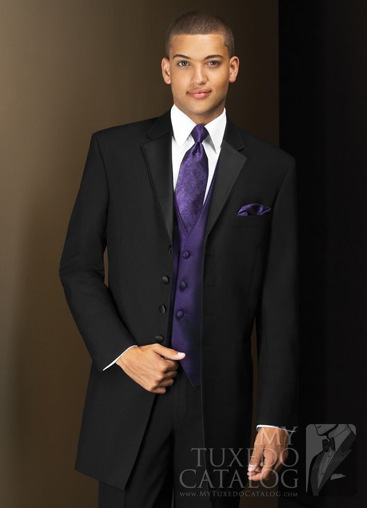 The 25 Best Wedding Tuxedo Purple Ideas On Pinterest Tie Groomsmen Attire And