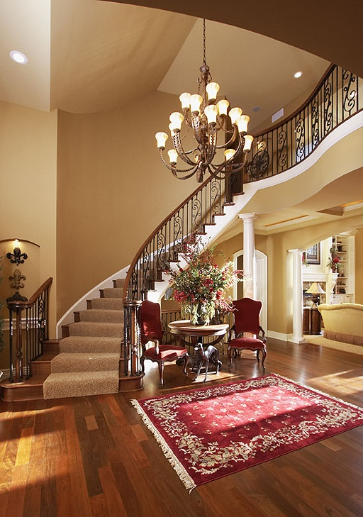 310 best Home - Foyer, Stairs, Halls images on Pinterest ...