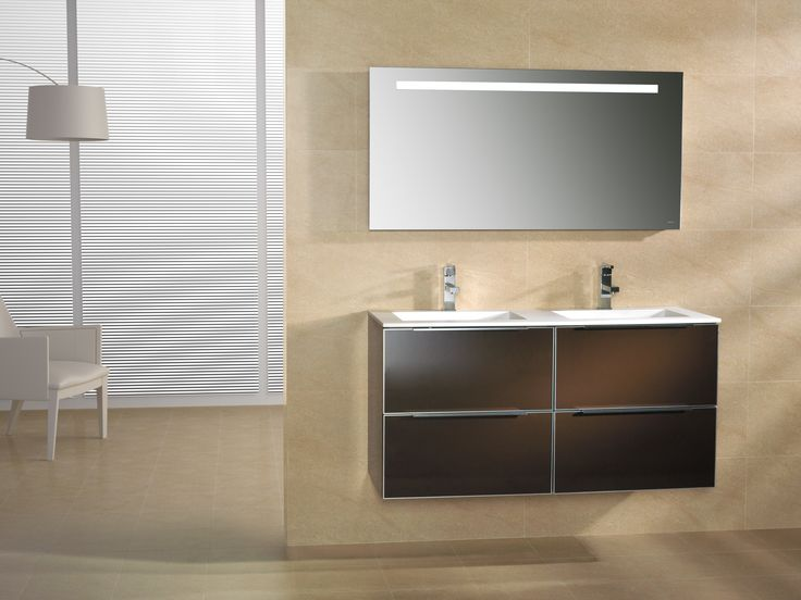 Planet 120 Chocolate with Mirror Serie 1  grespania  bathroom. 1000  images about Grespania Bathroom Furniture on Pinterest