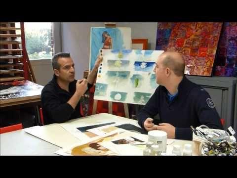 Comment faire un glacis en peinture acrylique ou huile?