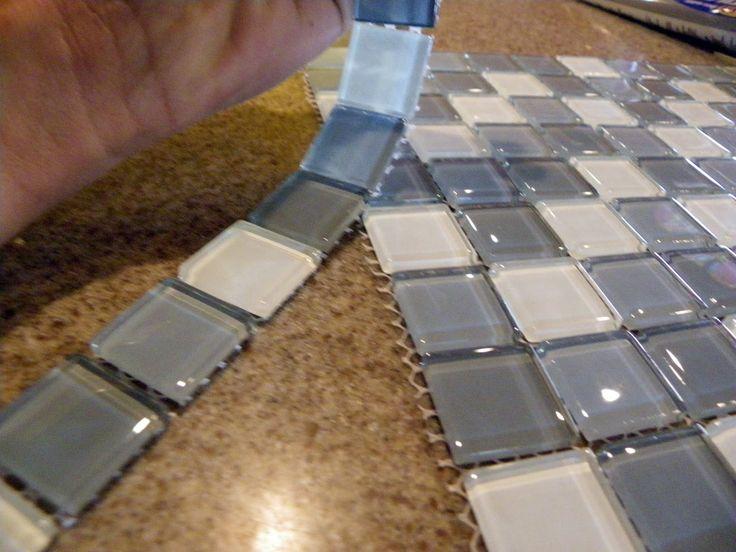 Diy Mosaic Tile Bathroom Mirror: 78+ Ideas About Tile Mirror Frames On Pinterest