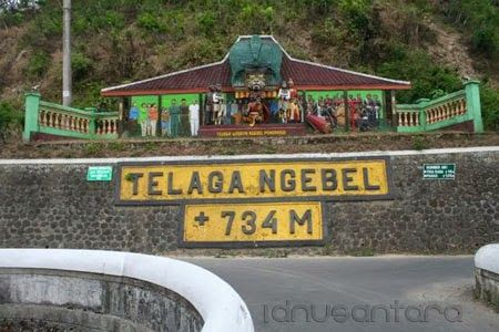 Kedalaman Telaga Ngebel 734M
