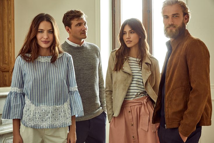 Find your perfect outfit for any occasion with the SS18 Springfield collection man & woman. #man #woman #dailysmart #mondaytofriday #Springfieldlooks #SS18