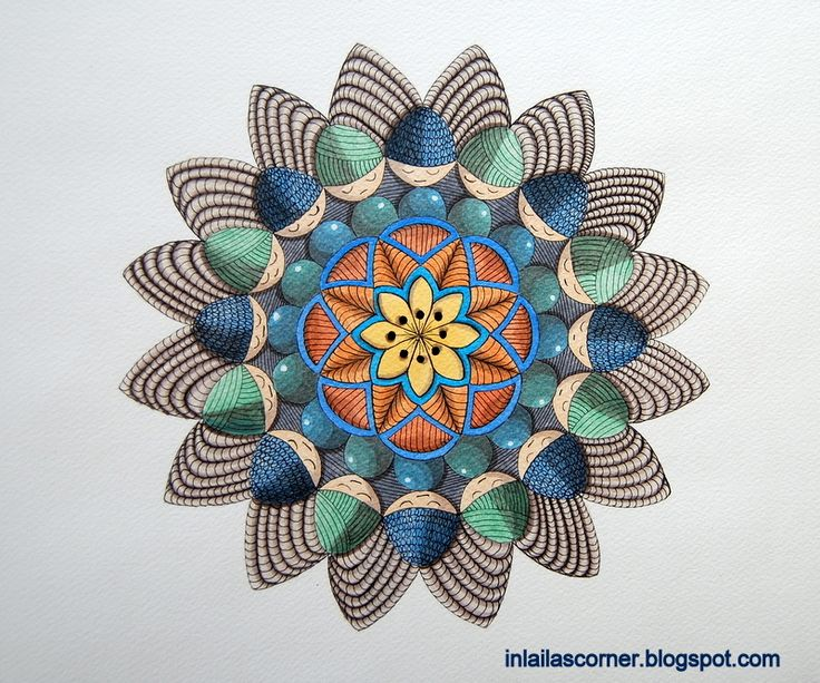 Mandala. It's called. Learning before flying. Neocolors 2.