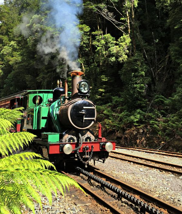 West Coast Wilderness Railway #Queenstown #Strahan #Tasmania photo and article for think-tasmania.com