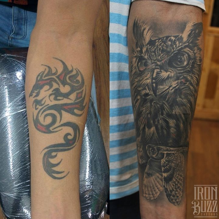 Iron Buzz Tattoos Andheri Mumbai: 15 Best Forearm Flame Tattoo Designs Cover Up Images On