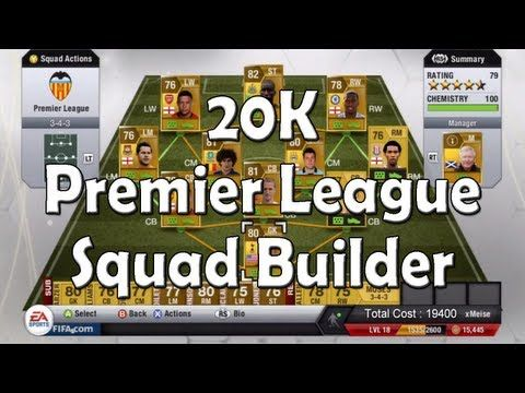 Fifa 13 Ultimate Team – 20K Barclays Premier League Squad Builder. . http://www.champions-league.today/fifa-13-ultimate-team-20k-barclays-premier-league-squad-builder/.  #13 #360 #barclays premier league #barclays premier league fixtures #barclays premier league schedule #barclays premier league transfers #bpl #BUILDER #commentary #definition #fifa #football #fu... #gameplay #games #hd #high #highlights #Premier League #skill #squad #team #tutorials #ultimate #xbox
