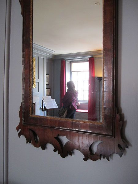 Visiting Handel House with my sister