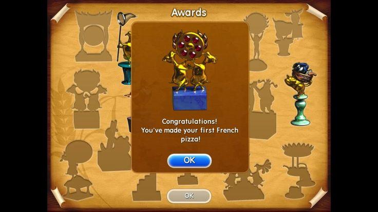 Farm Frenzy Pizza Party only GOLD French street 1 (level 12) Веселая ферма Печем пиццу Французская 1