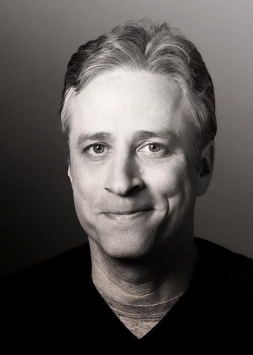 Jon Stewart, American political satirist,  comedian, television host. Born Jonathan Stuart Leibowitz 28 November 1962, New York, U.S.