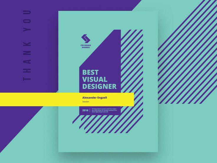 Visual Designer of The Year.