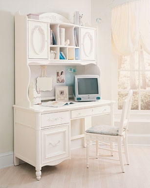 Isabella Computer Desk By Stanley Young America This Is So Pretty I Would  Love This In The Girls Room