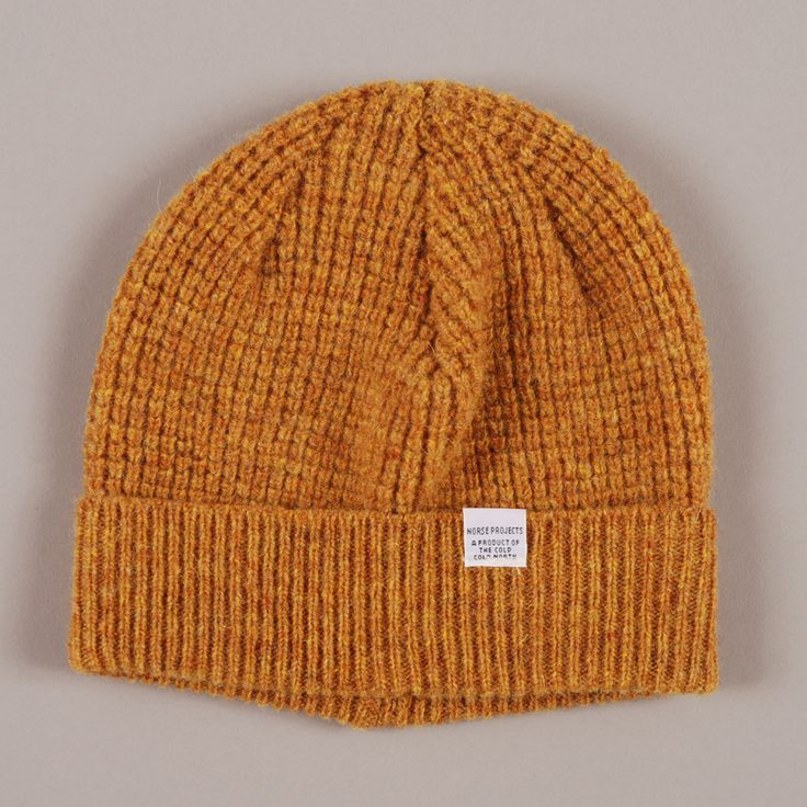Norse Projects Kaupang beanie: Outfit Ideas, Gift Ideas, Clothing, Kaupang Beanie, Hunter Beanie, Norse Projects, Projects Kaupang, Kaupang Hunter