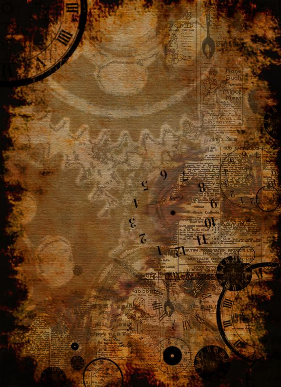 Steampunk Background by AnastasiaCatris.deviantart.com on @deviantART