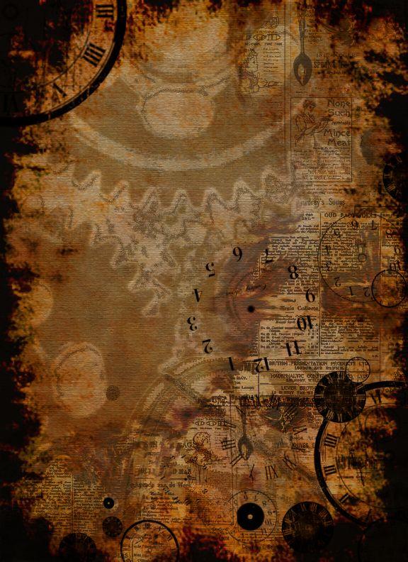 Steampunk Background by AnastasiaCatris.deviantart.com on @deviantART