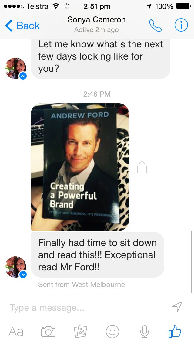 Love it when people love my book :)