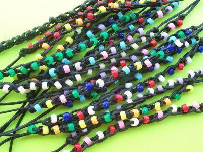 Day 2: Iggy Jingles Crafts: Friendship Bracelets.  kingdom rock vbs.