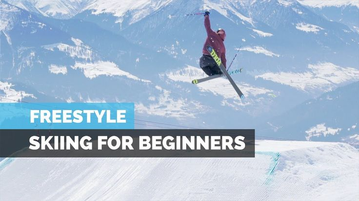 FREESTYLE SKIING FOR BEGINNERS   HOW TO SKI IN THE PARK