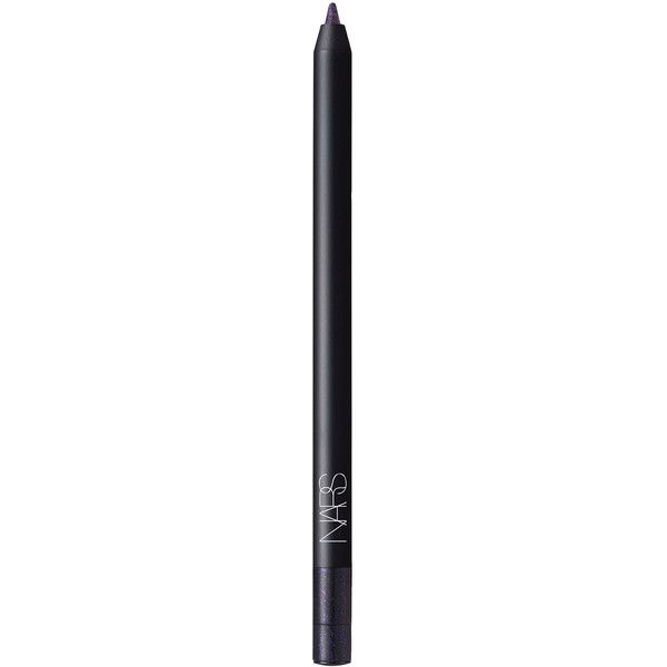 Nars Eyeliner Night Clubbing Black with Purple Pearl ($29) ❤ liked on Polyvore featuring beauty products, makeup, eye makeup, eyeliner, kohl eyeliner, nars cosmetics, black eyeliner, purple eyeliner and purple eye liner