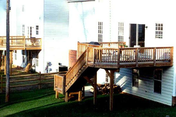 17 best ideas about high deck on pinterest second story for Second floor deck ideas