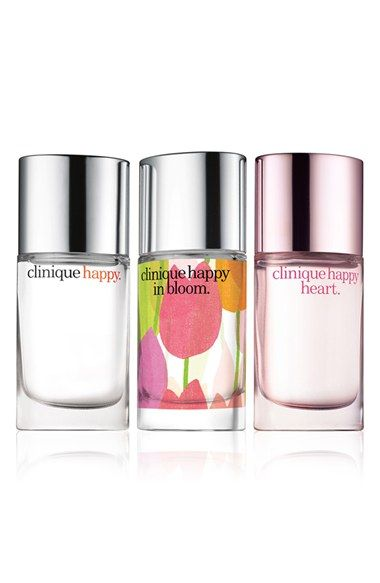 A set of three beautiful take-anywhere fragrances by Clinique.