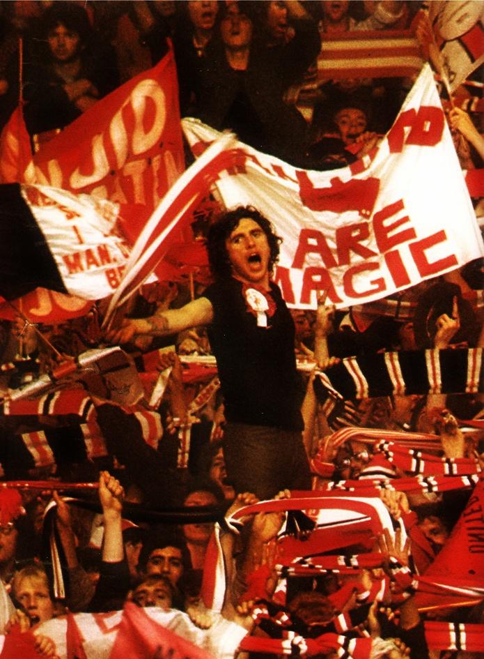 Fans Man United 70's