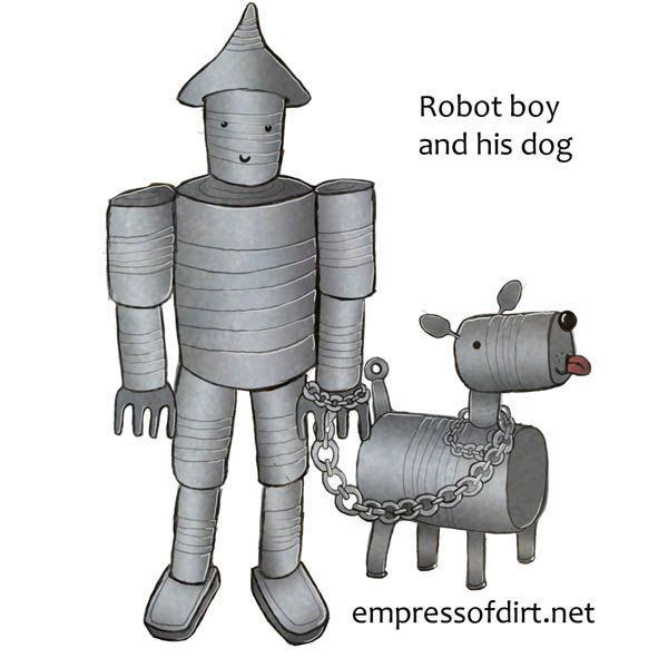172 best images about tin man on pinterest gardens yard for Tin can tin man craft