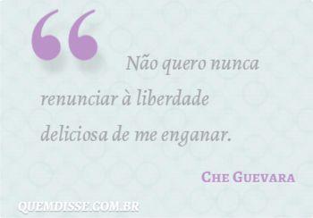 Frase de Che Guevara