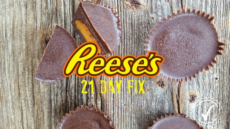 Reese façon 21 day fix