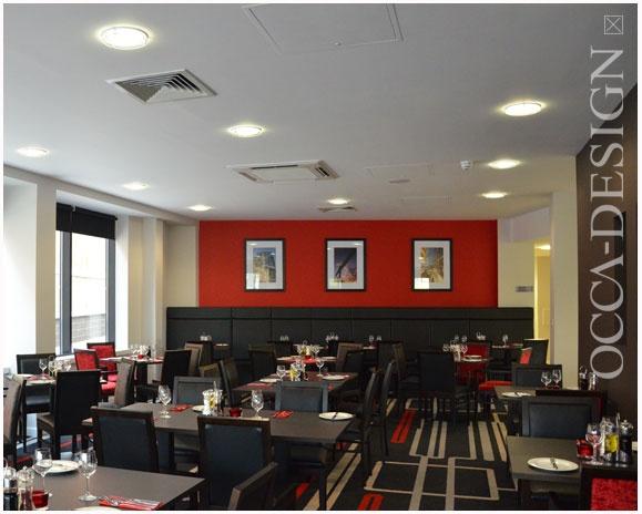 Ramada encore gateshead hotel interior design bar for Interior bar designs residential