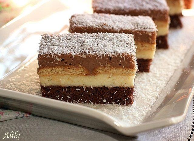 Μυρωδιές και νοστιμιές: Πάστα σοκολάτας - ραφαέλο