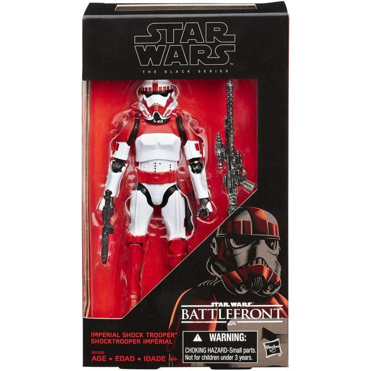 "Hasbro Star Wars Black Series 6"" inch Imperial Shock Trooper Walmart Excl.. MINT"