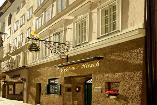 Goldener Hirsch Salzburg. Loved it, stayed in their annex across the street, if rates are too high next time, would stay at Hotel Goldene Ente