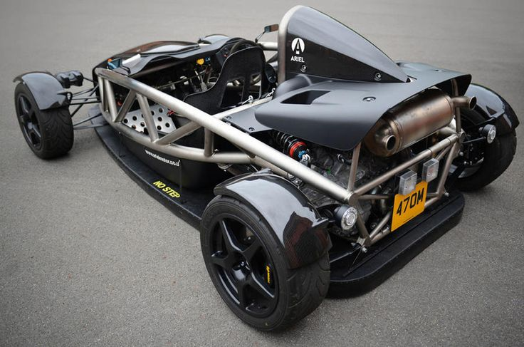 Ariel brings back the 'fan car' with Atom Aero-P concept