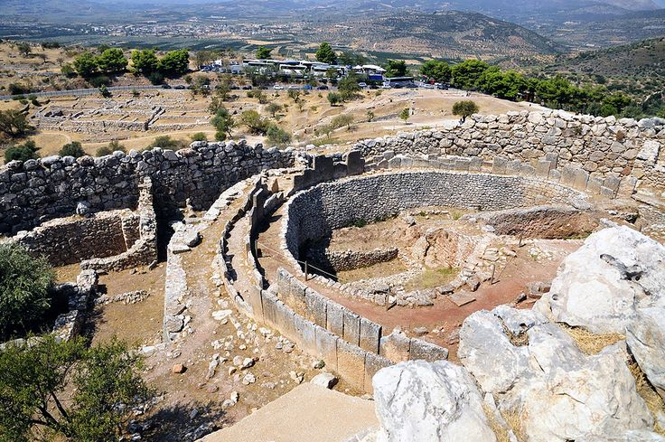 Mycenae: one of the brightest civilizatations.