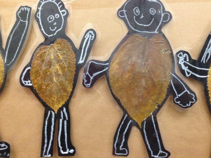 NENS I NENES - Material: ceres toves, fulles, cola, tisores, cartolina - Nivell: P5 INF 2015/16 Escola Pia Balmes