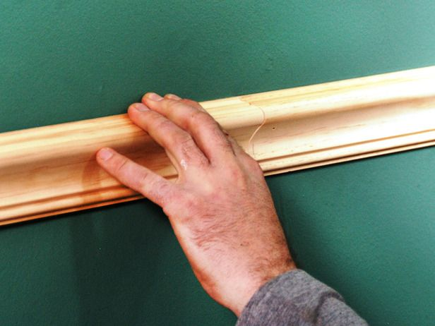 How to Install a Chair Rail - I'm sure my mom already knows how to do this but I'm gonna pin it anyway!!