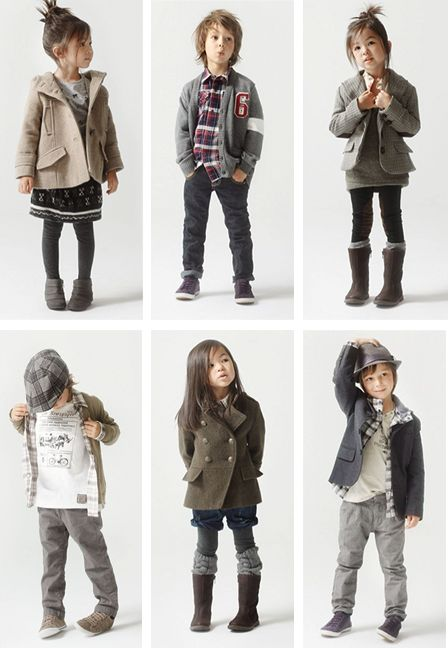 An adorable look for girls in the winter and even keep them warm during an outside shoot!