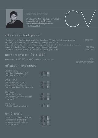 ISSUU - 2014 Undergraduate Architectural Portfolio by Kristina Masytė by Kristina Masytė