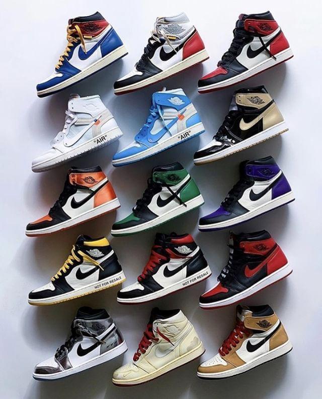 Choose your three favorite Nike Air Jordan 1 pairs from 2018 ...