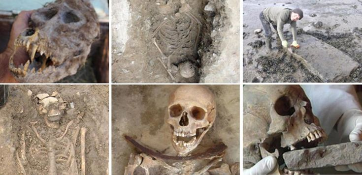 Witches, Vampires and Werewolves – 10 Ghoulish Archaeological Discoveries. #halloween
