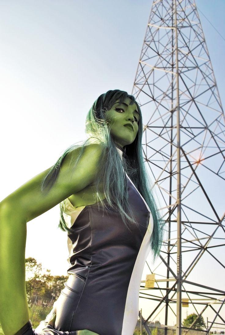 She-Hulk Cosplay _ Romics 2014. Photo / Editing: © Arianna Berti.